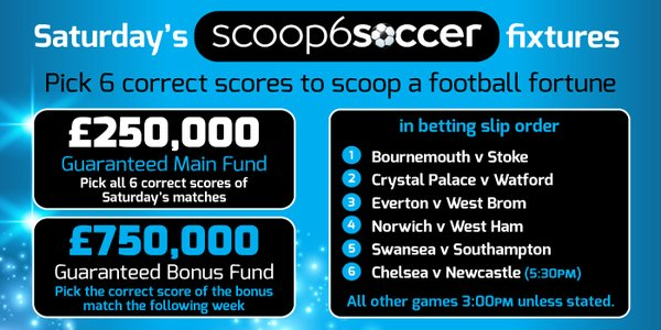 How To Become A Scoop6soccer Millionaire This Weekend!