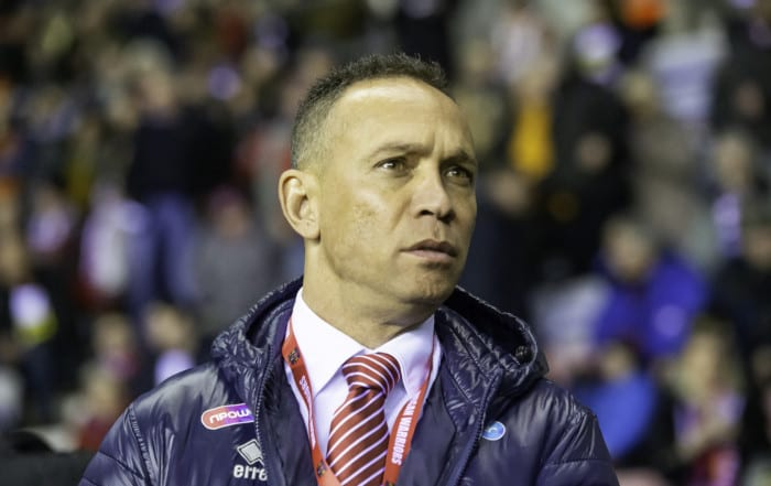 Wigan Warriors coach Adrian Lam