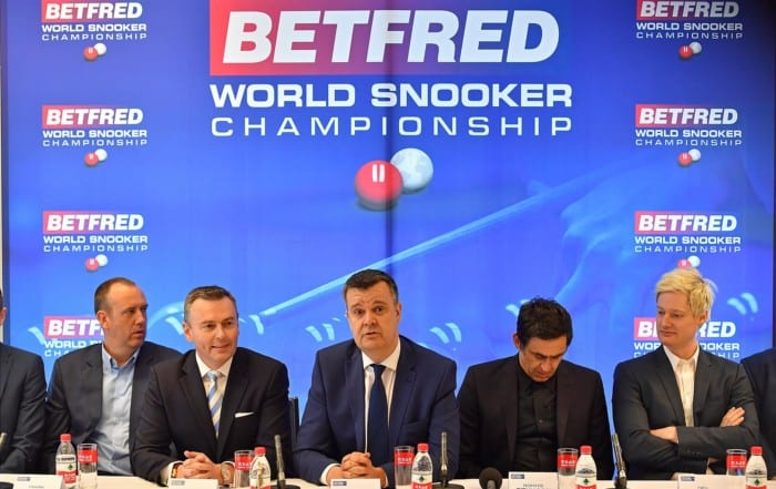 Mark Pearson Betfred World Snooker Championships